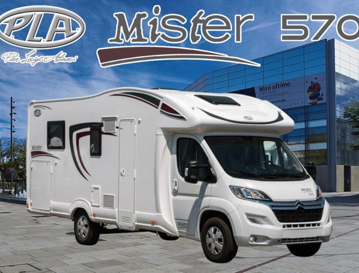 Venta Autocaravana PLA Mister 570