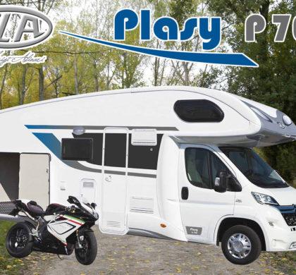 Alquiler PLA Plasy P70G (6 plazas)