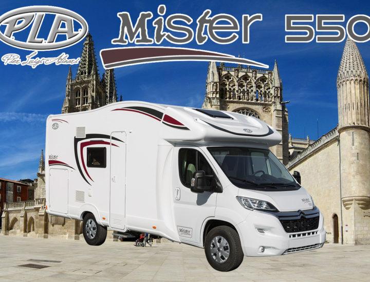 Venta autocaravana PLA Mister 550 (5 plazas)