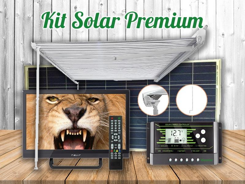 Kit Solar Autocaravana Premium