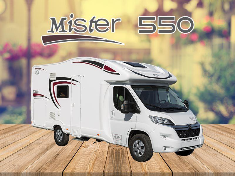 Autocaravana Mister 550