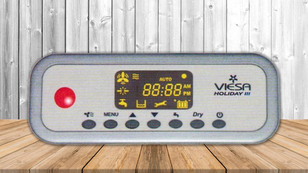 Panel de control Enfriador Viesa Holiday 3