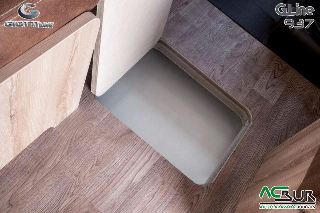 GiottiLine GL937 Compartimento en el suelo