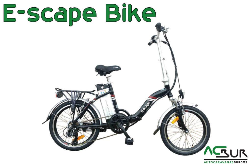 Black Friday Bicicleta eléctrica negro lateral