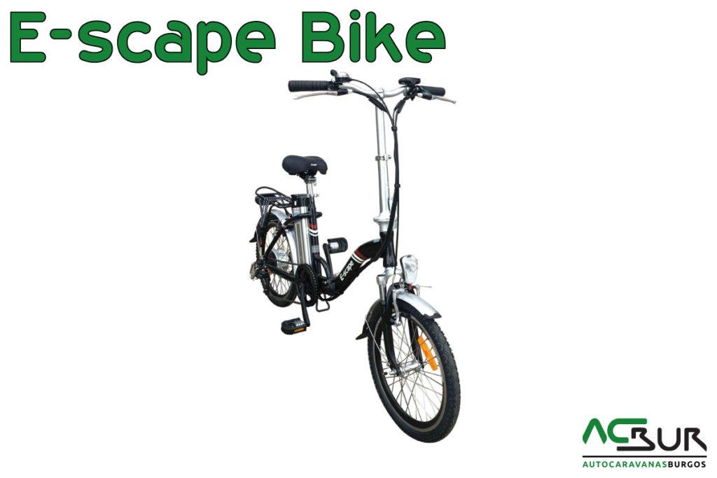 Black Friday Bicicleta eléctrica negra
