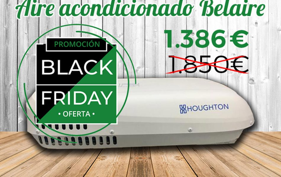 Black Friday Aire acondicionado Autocaravanas Belaire Mosaico