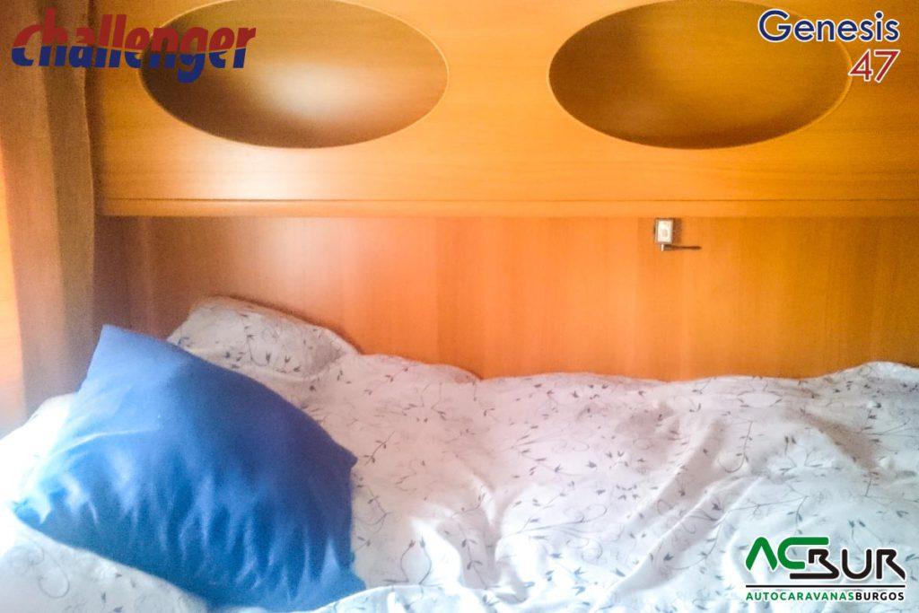 Autocaravana de segunda mano capuchina dormitorio trasero