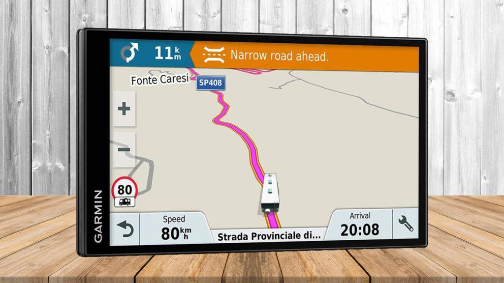 GPS para autocaravanas