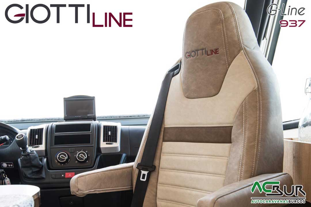 Autocaravana GiottiLine GLine 937 2020 asiento