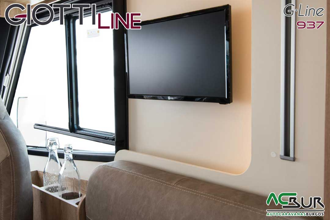 Autocaravana GiottiLine GLine 937 2020 televisión
