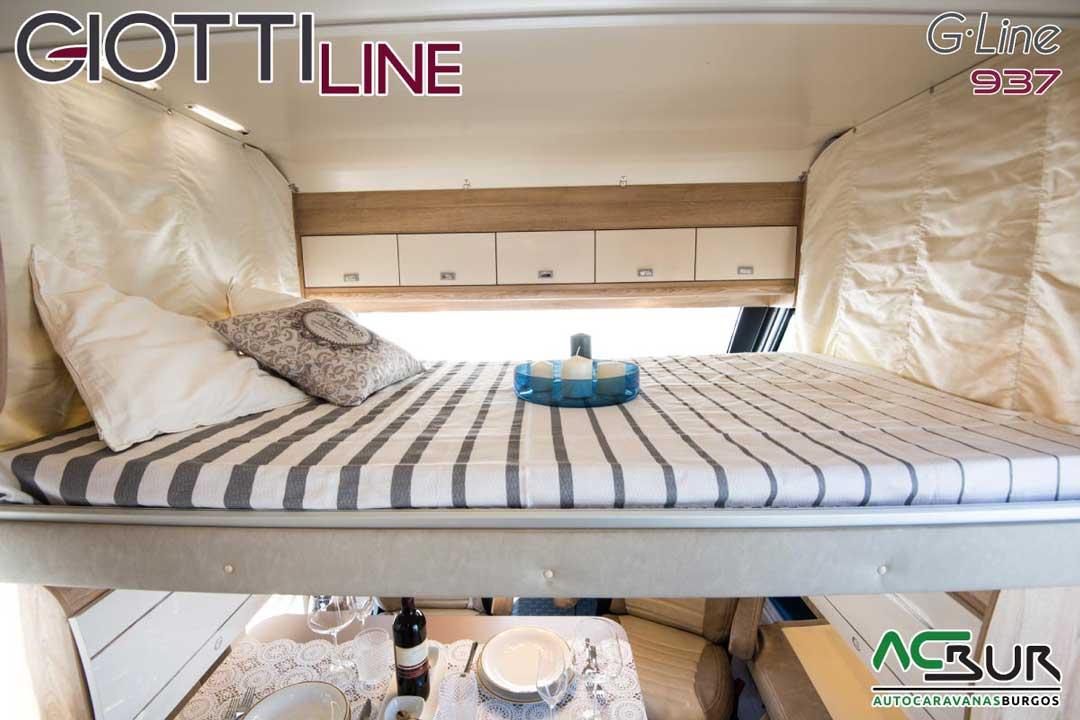 Autocaravana GiottiLine GLine 937 2020 Cama