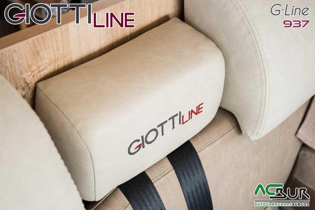 Autocaravana GiottiLine GLine 937 2020 tapizados