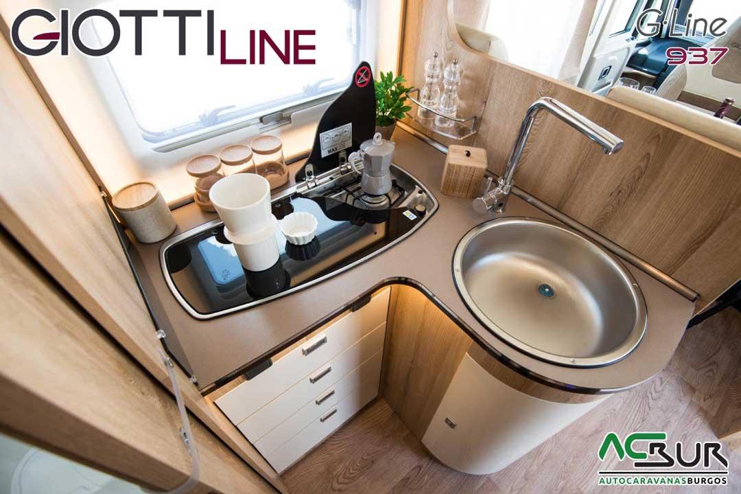 Autocaravana GiottiLine GLine 937 2020 Cocina