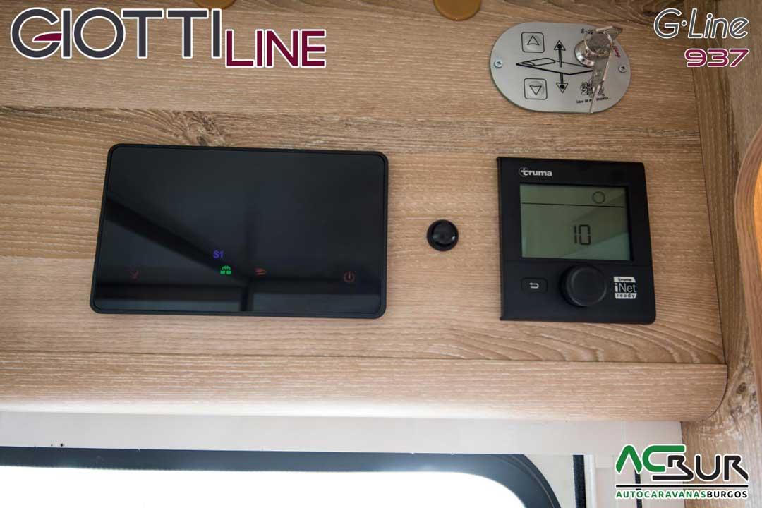 Autocaravana GiottiLine GLine 937 2020 controles