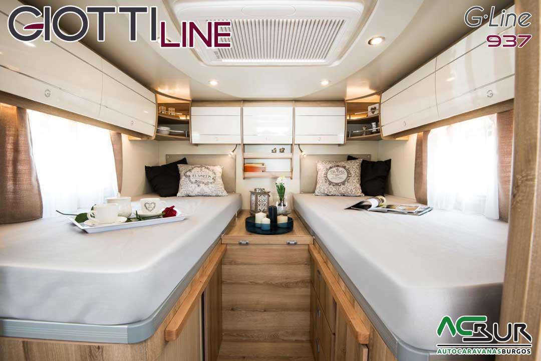 Autocaravana GiottiLine GLine 937 2020 Dormitorio