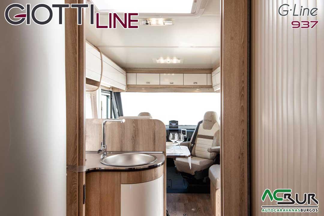 Autocaravana GiottiLine GLine 937 2020 Pasillo