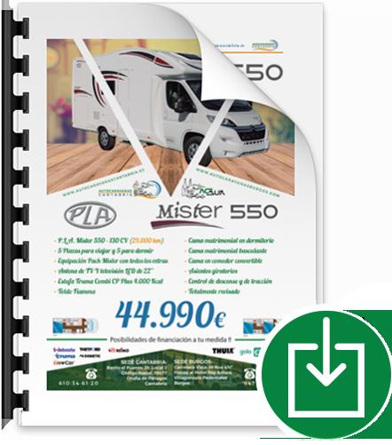 Botón Pla Mister 550 2018
