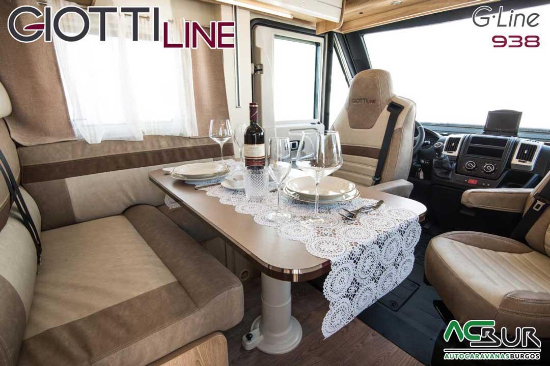 Autocaravana GiottiLine GL938 2020 Comedor
