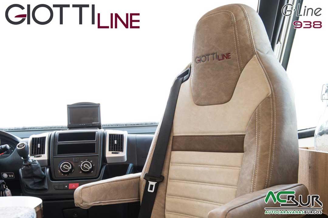 Autocaravana GiottiLine GL938 2020 Captain Chair