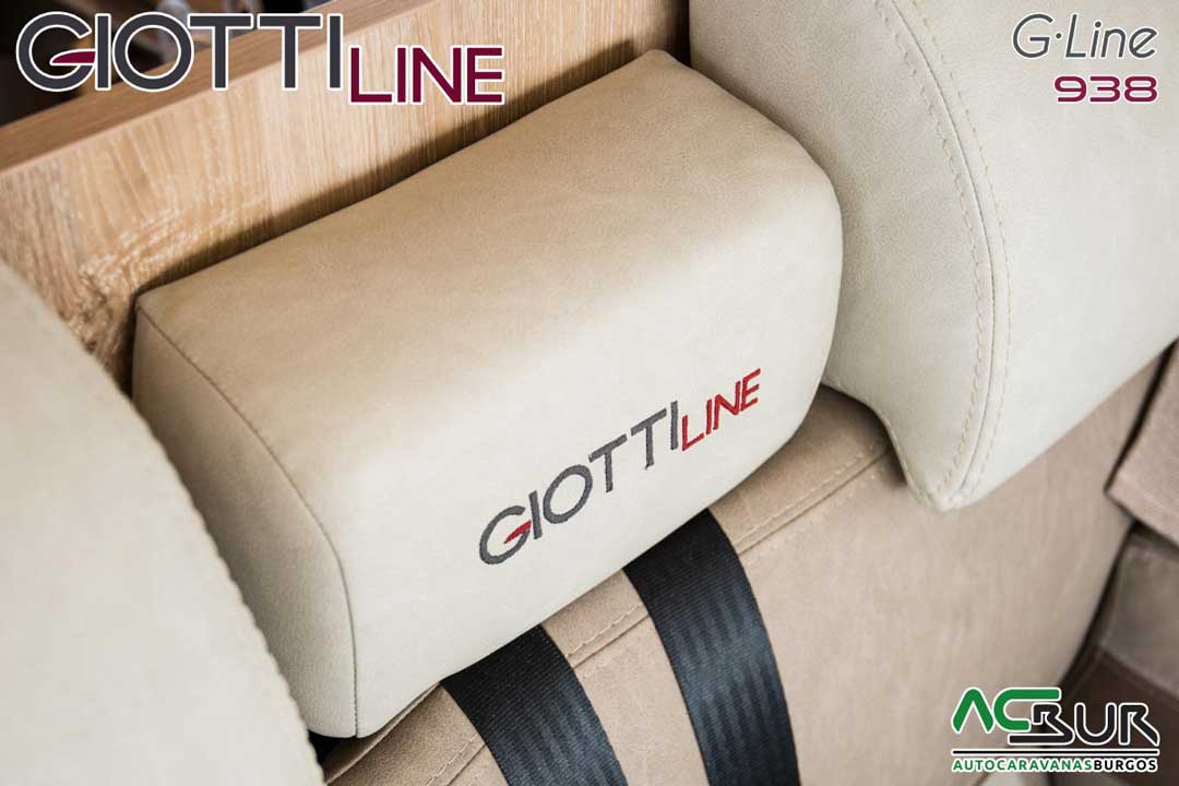 Autocaravana GiottiLine GL938 2020 Bordados