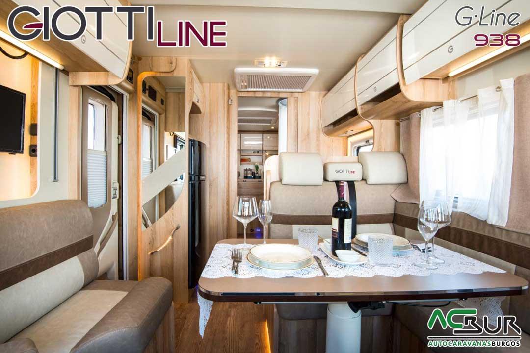 Autocaravana GiottiLine GL938 2020 Salón