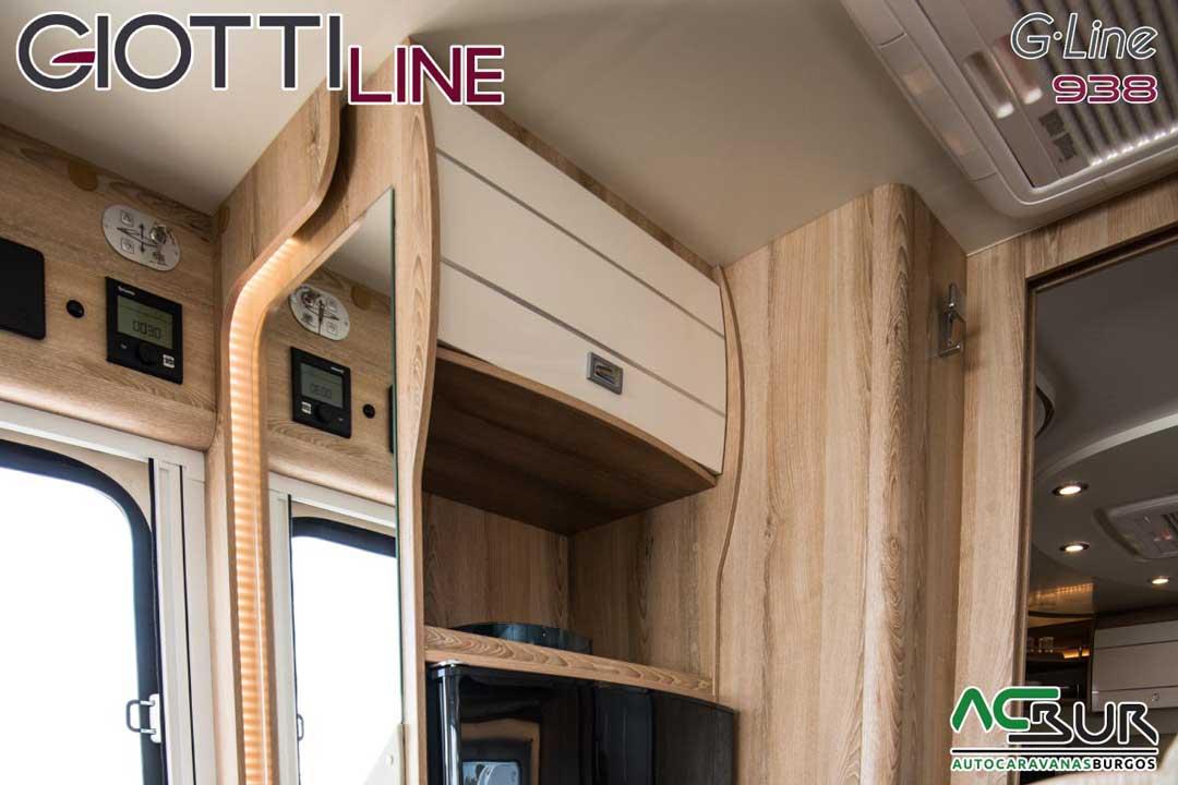 Autocaravana GiottiLine GL938 2020 armarios