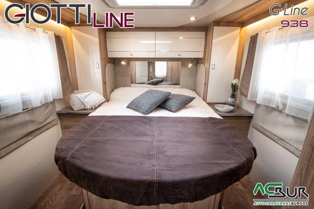 Autocaravana GiottiLine GL938 2020 Dormitorio