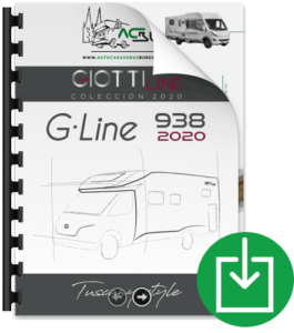 Autocaravana GiottiLine GL938 2020 catálogo