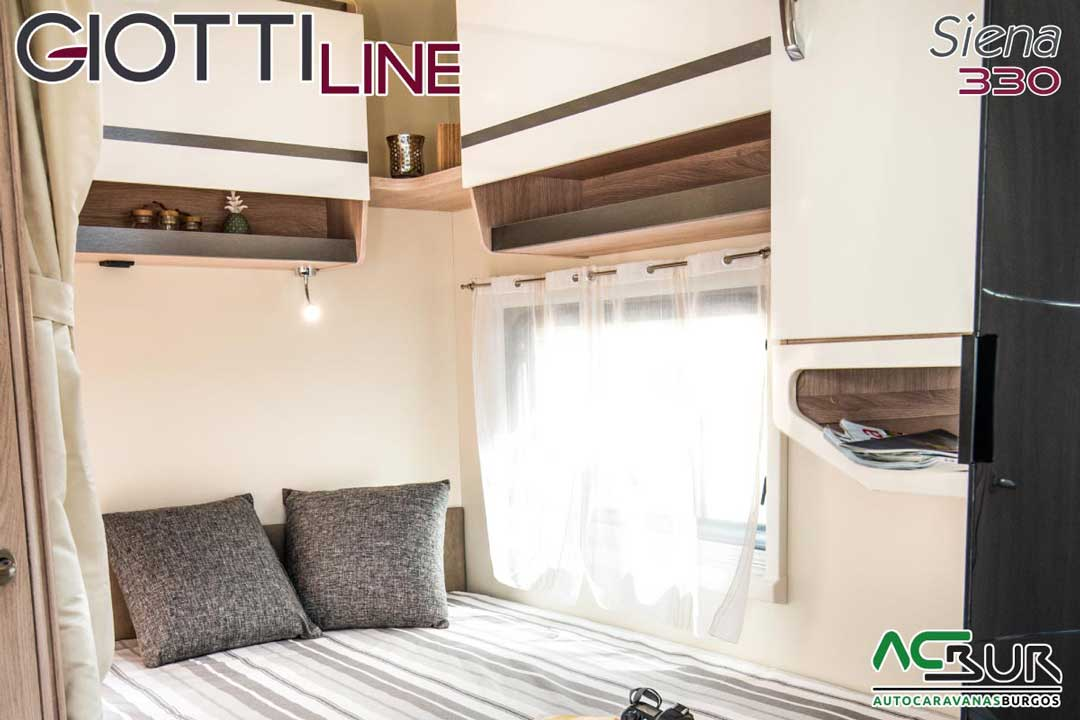 Autocaravana GiottiLine Siena 330 2020 dormitorio