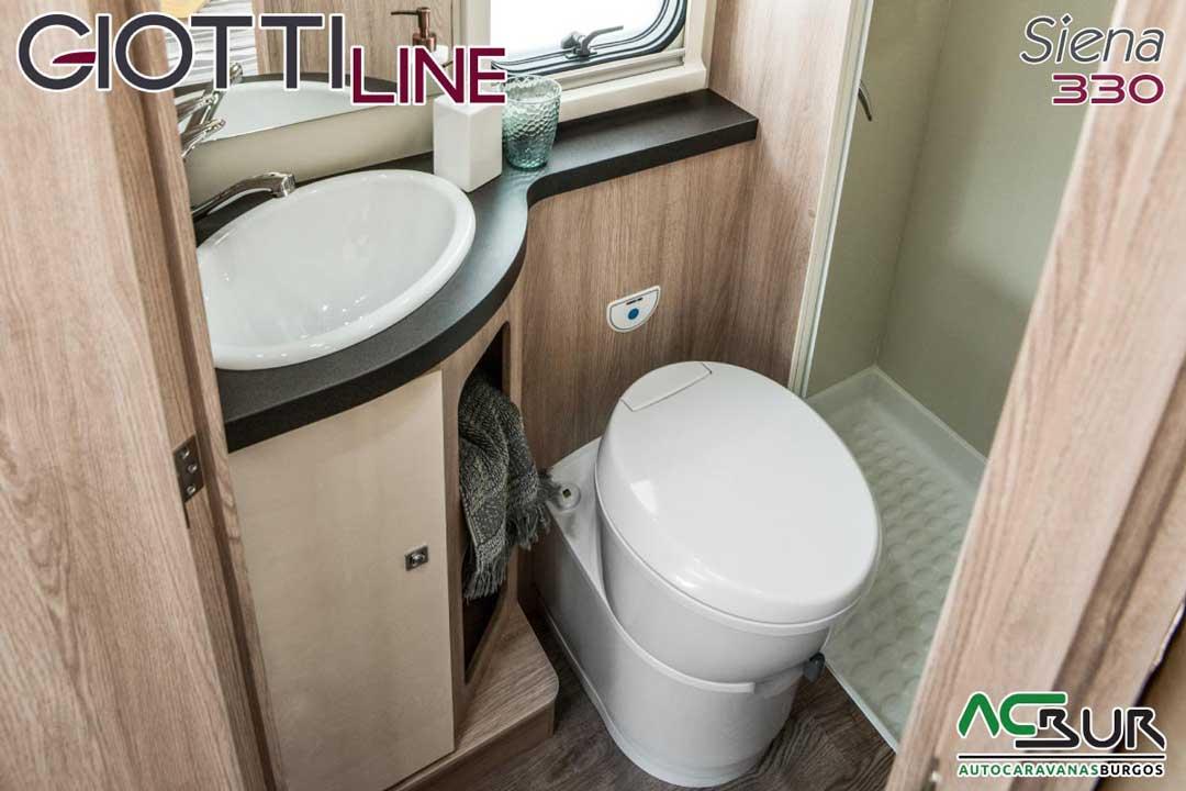 Autocaravana GiottiLine Siena 330 2020 baño