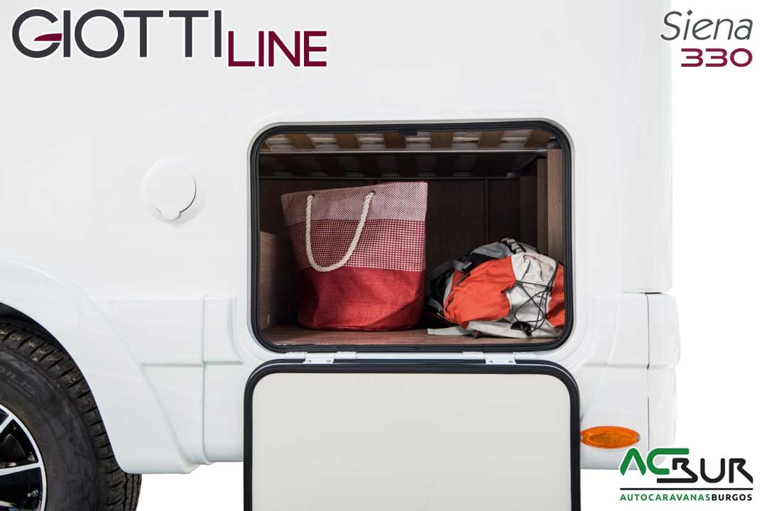 Autocaravana GiottiLine Siena 330 2020 garaje