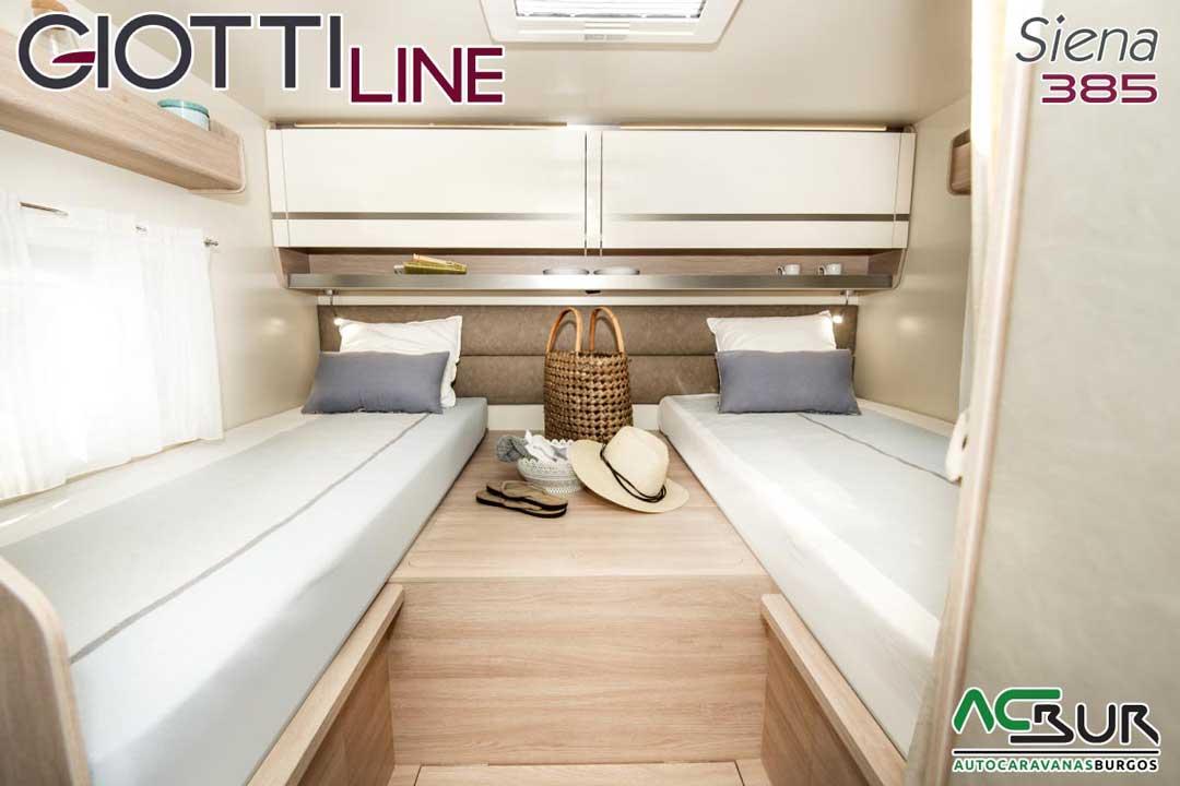 Autocaravana GiottiLine Siena 385 2020 dormitorio