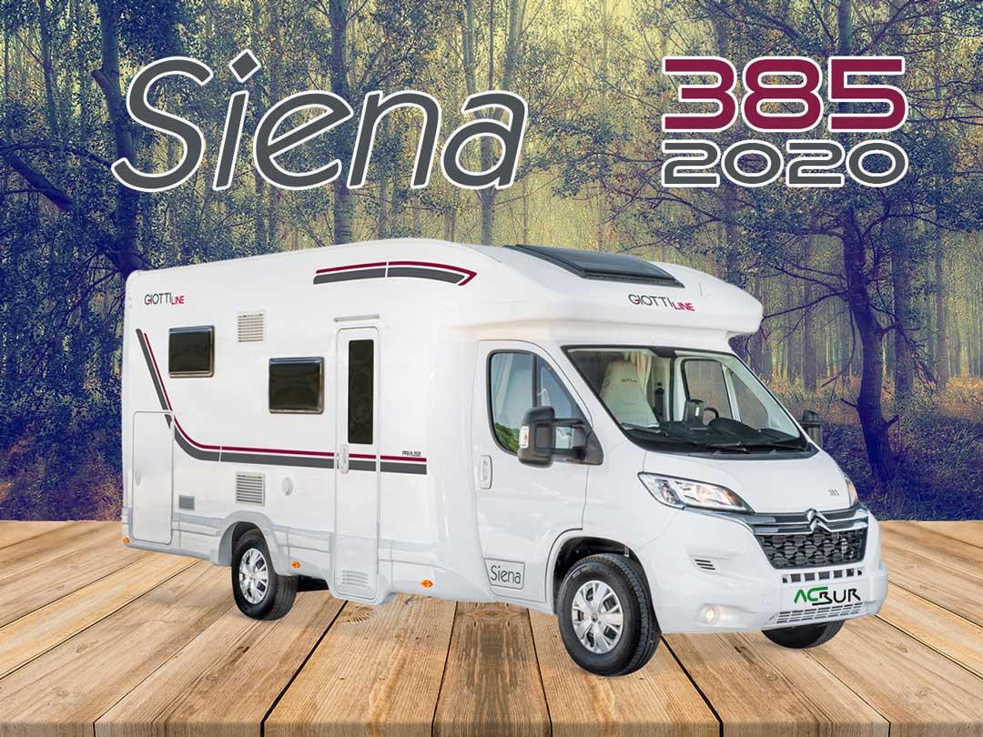 Autocaravana GiottiLine Siena 385 2020 mosaico