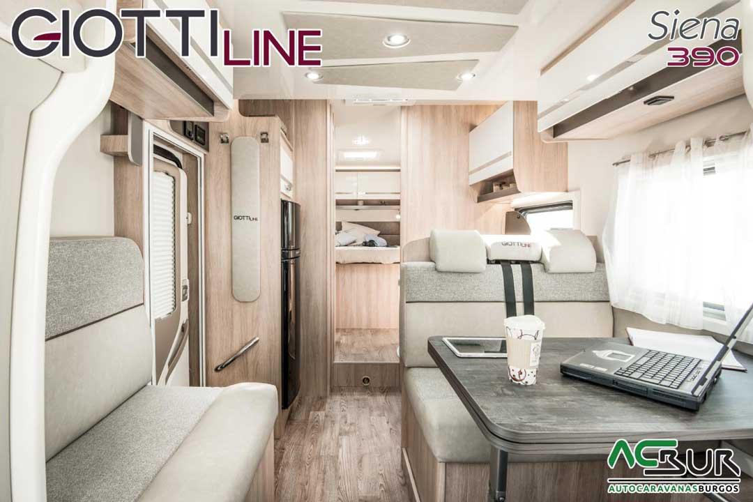 Autocaravana GiottiLine Siena 390 2020 salón