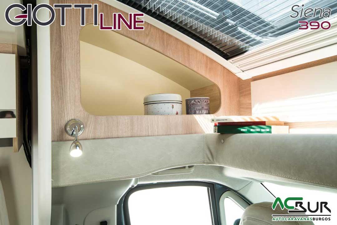 Autocaravana GiottiLine Siena 390 2020 espacios