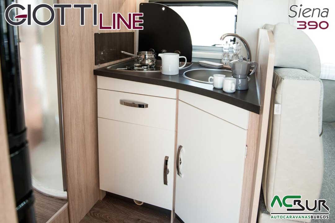 Autocaravana GiottiLine Siena 390 2020 cocina