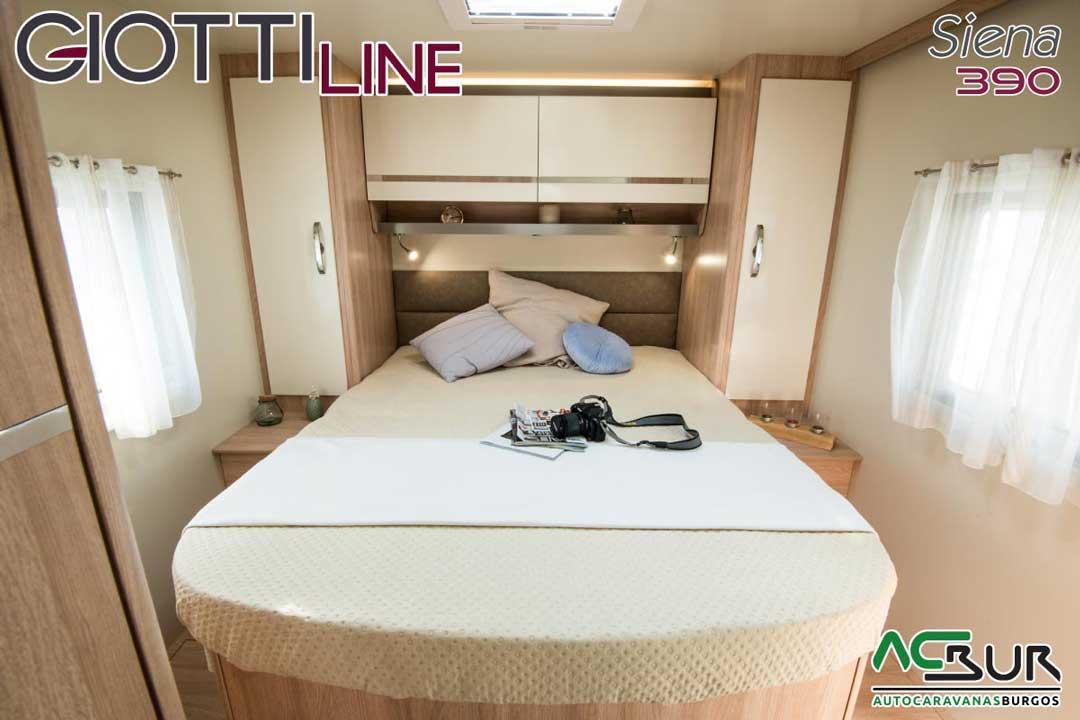 Autocaravana GiottiLine Siena 390 2020 dormitorio