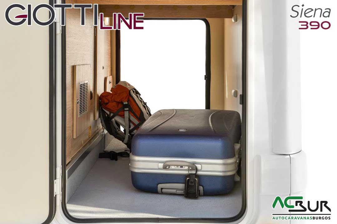 Autocaravana GiottiLine Siena 390 2020 garaje