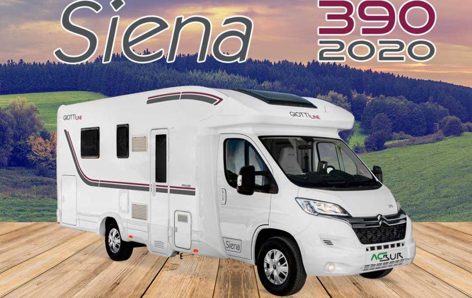 Autocaravana GiottiLine Siena 390 2020 mosaico