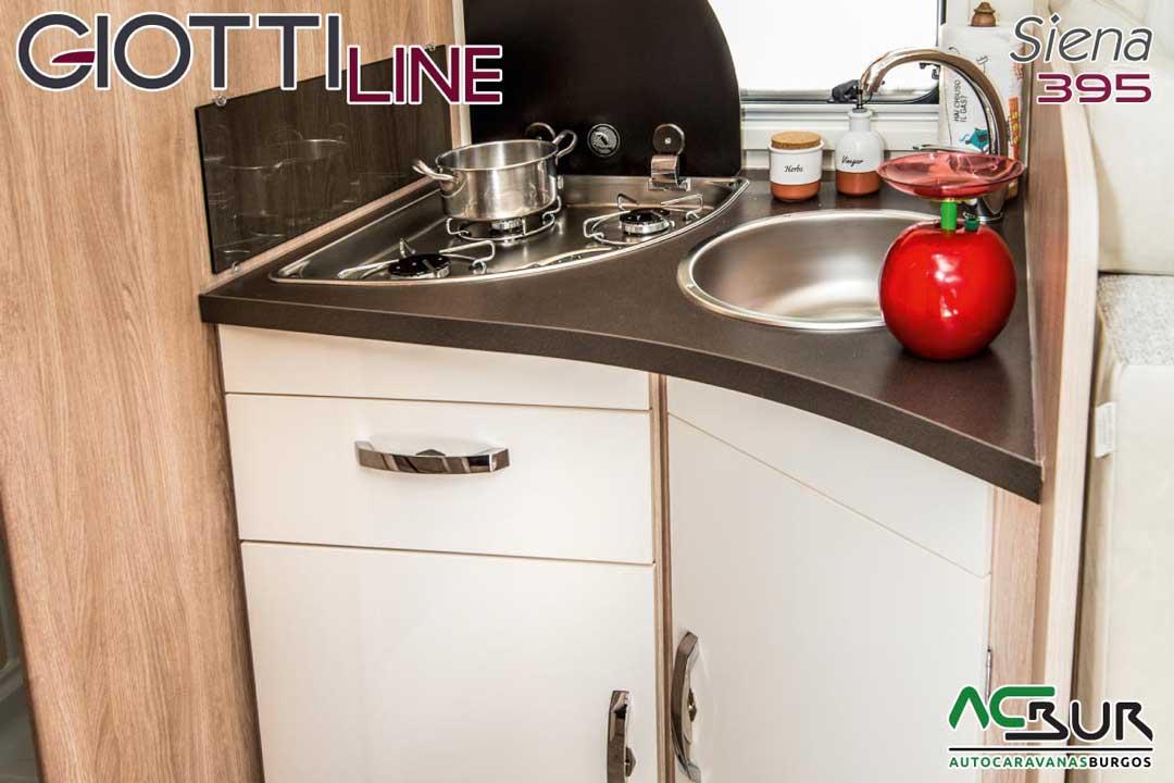 Autocaravana GiottiLine Siena 395 2020 cocina