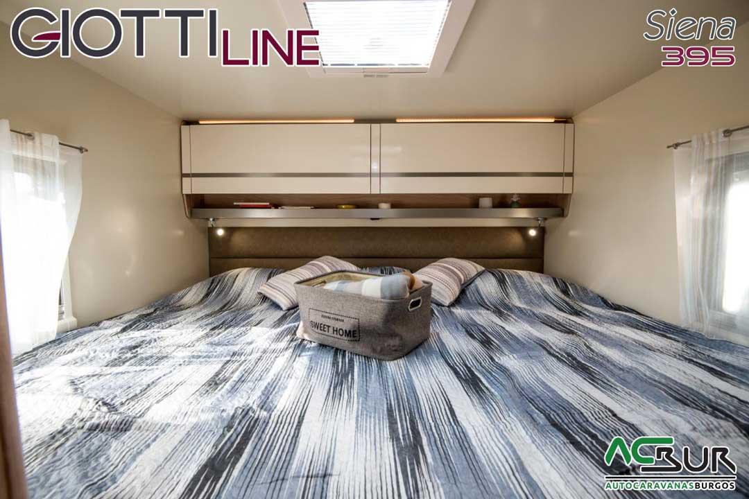 Autocaravana GiottiLine Siena 395 2020 dormitorio