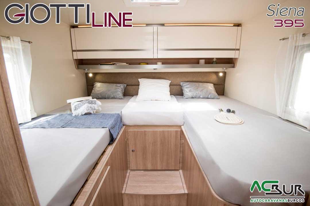 Autocaravana GiottiLine Siena 395 2020 camas