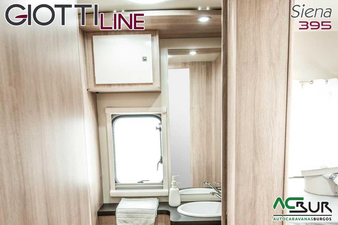 Autocaravana GiottiLine Siena 395 2020 baño