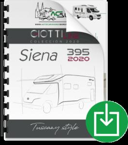 Autocaravana GiottiLine Siena 395 2020 Catálogo