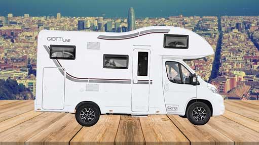 Autocaravana GiottiLine Siena 422 2020 latreral 2
