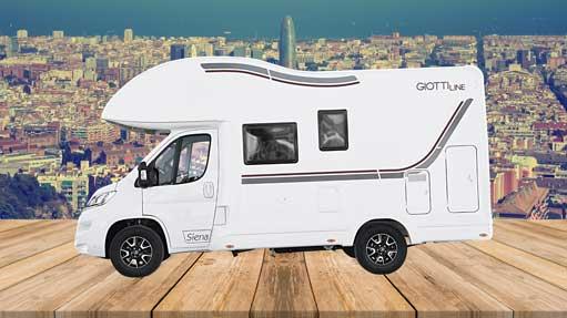 Autocaravana GiottiLine Siena 422 2020 lateral 1