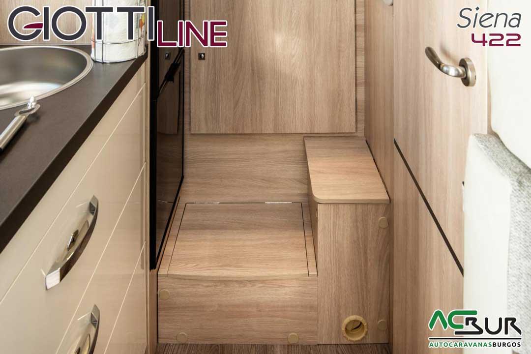 Autocaravana GiottiLine Siena 422 2020 armarios