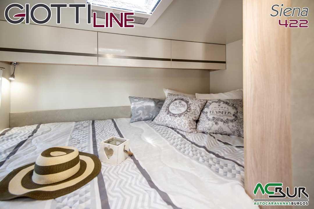 Autocaravana GiottiLine Siena 422 2020 dormitorio