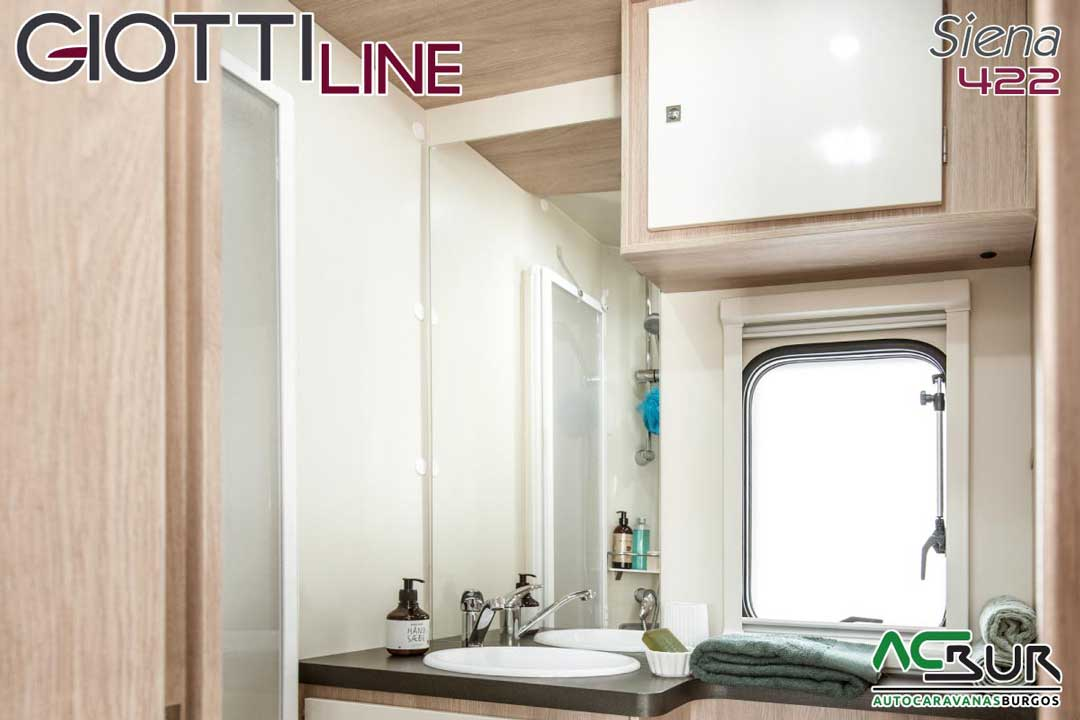 Autocaravana GiottiLine Siena 422 2020 baño
