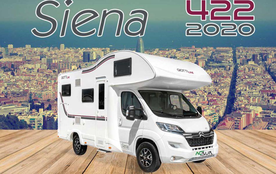 Autocaravana GiottiLine Siena 422 2020 mosaico